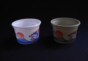 Vaso plastico de 1/8 Kg