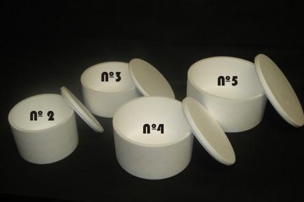 Envases térmicos para tortas nº 2, 3, 4 y 5